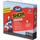 Scott 13 In. W x 12-1/2 In. L Disposable Original Shop Towel (12-Sheets) Image 1