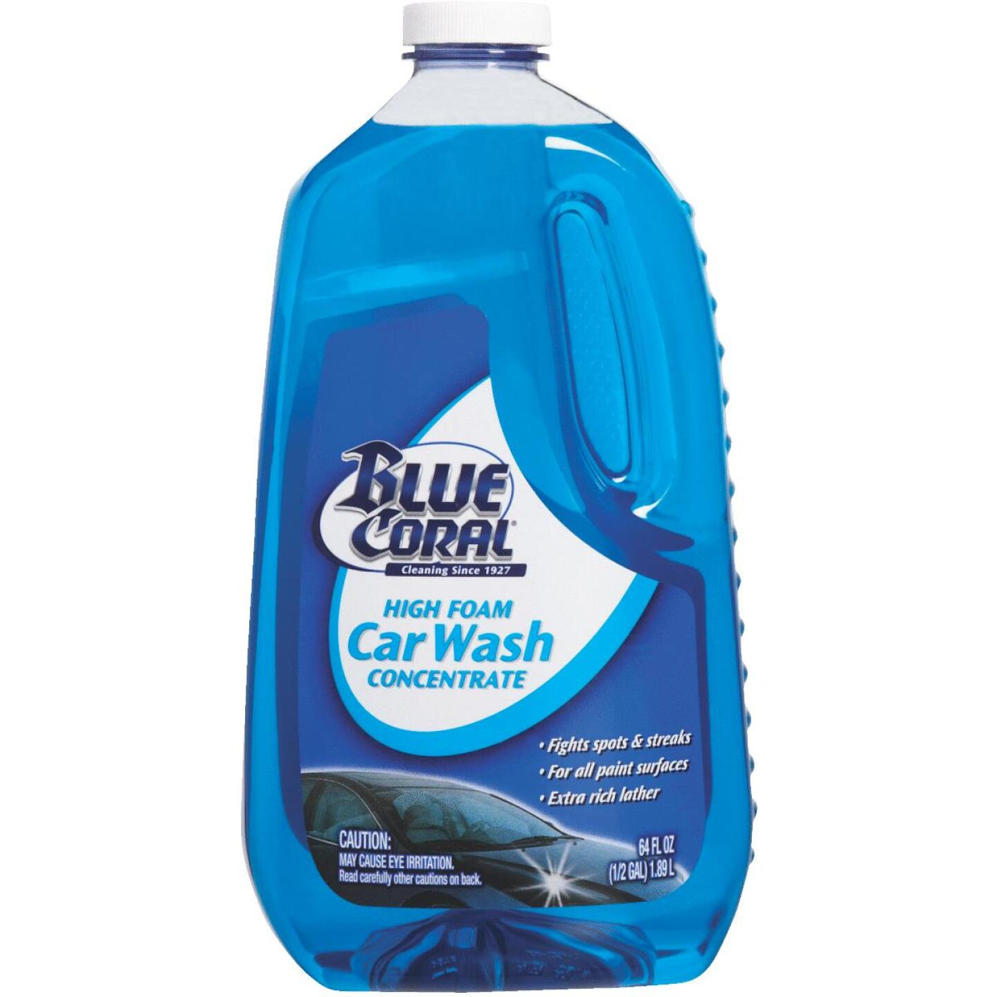 Blue Coral Liquid 64 oz Car Wash Image 1