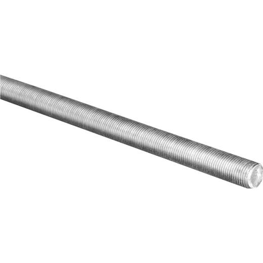HILLMAN Steelworks 5/8 In. x 1 Ft. Steel Threaded Rod