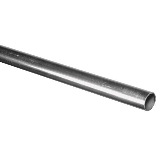 HILLMAN Steelworks Aluminum 1-1/4 In. x 8 Ft. Round Tube Stock